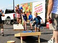 Block Party Trailer - Corn Hole Game