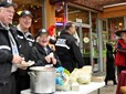 Citizen Volunteers in Policing at trick-or-treat event in downtown Gresham
